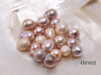 Wholesale AA-grade 16x22mm Natural Pink/Lavender Baroque Pearl