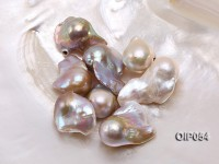 Wholesale AA-grade 18x24mm Natural Pink/Lavender Baroque Pearl