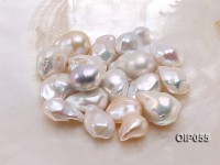 AAA-grade 18x24mm Classic White Baroque Pearl