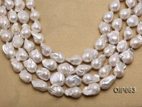 Wholesale Special High-quality 12-16mm White Baroque Pearl String