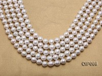 Wholesale Special High-quality 10-12mm White Baroque Pearls