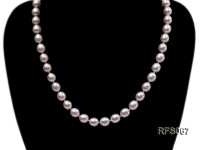 7.5-8mm White Rice-shaped Freshwater Pearl Necklace, Bracelet and earrings Set