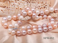13-14mm Round Multicolor Freshwater Edsion Pearl Opera Necklace