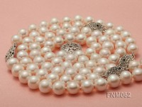 9-10mm High Quality Round Pearl Necklace