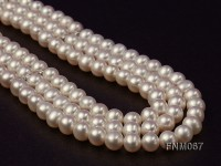 8-8.5mm AAA High Quality Round Pearl Necklace with Stering Silver Clasp