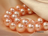 10-11mm AAA High Quality Round Pearl Necklace with Stering Silver Clasp