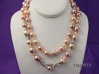 13-15mm White Edison Pearl Opera Necklace