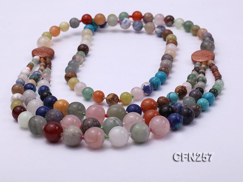 Beautiful Mixed Semi-precious Stone Necklace