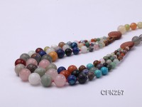 Beautiful Mixed Semi-precious Stone Necklace