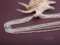 Extraordinary 5-strand Freshwater Pearl Necklace