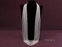 Amazing 9-strand Freshwater Pearl Necklace