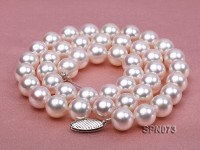 AAA Top Quality 9-9.5mm Akoya Pearl Necklace in 14k Gold