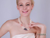 chunky freshwater pearl necklace