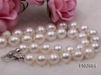13-15mm White Edison Pearl Necklace
