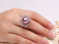 13mm lavender edison pearl ring
