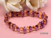 6x12mm Ametrine Beads elasticated Bracelet