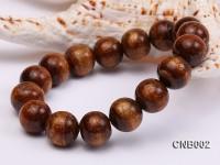 14mm Round Golden Coral Bracelet