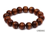 14mm Round Golden Coral Bracelet