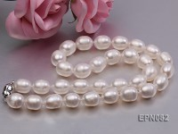10-11mm Oval Freshwater Pearl Necklace