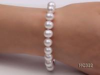 9mm AAA round freshwater pearl bracelet