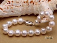 9mm AAA round freshwater pearl bracelet