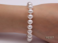 10mm AAA round freshwater pearl bracelet