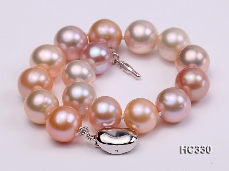 10-10.5mm AAA round freshwater pearl bracelet