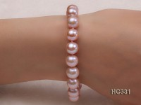 10-11mm AAA round freshwater pearl bracelet