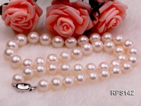 10-11mm AAA round freshwater pearl necklace,bracelet and earring set
