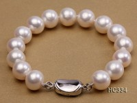 11-11.5mm AAA round freshwater pearl bracelet