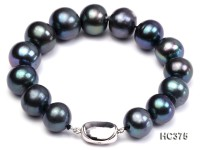 12-13mm AAA round freshwater pearl bracelet