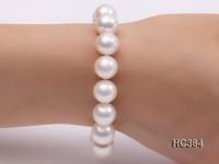11.5-12.5mm AAAA round freshwater pearl bracelet