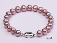 8-9mm AAA round freshwater pearl bracelet