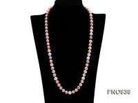 9-10mm Round High Quality Freshwater Pearl Necklace