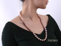 11.5-12.5mm round  Edison Pearl Necklace