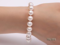10-10.5mm AAA round freshwater pearl bracelet