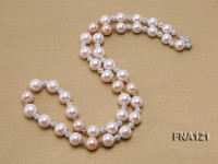 11-13.5mm Round Edison Freshwater Pearl Necklace