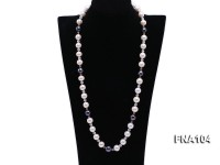 12.5-14mm Round Freshwater Pearl Necklace