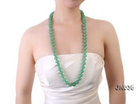 Beautiful Natural 14mm Aventurine Jade Necklace