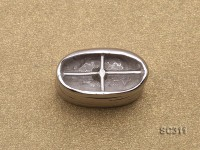9x17mm Sterling Silver Magnetic Clasp