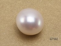 12×13.5mm Classic White Flat Loose Pearl
