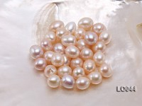 Wholesale 11X15-12X16mm Pink Drop-shaped Loose Freshwater Pearls