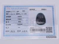 40x60mm Black Obsidian Pendant