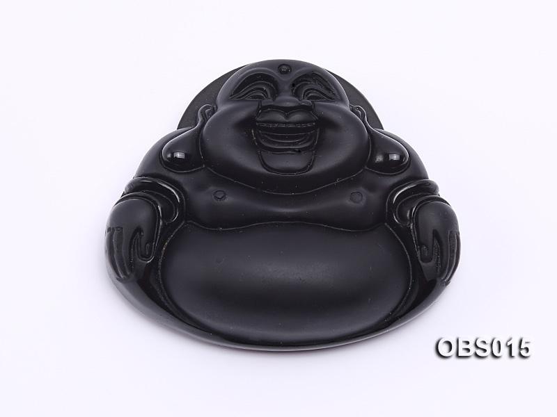 43x70mm Black Obsidian Pendant
