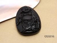 43x55mm Black Obsidian Pendant