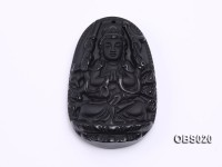 40x60mm Black Obsidian Pendant