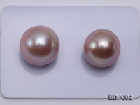 AAA-grade 13-15mm White/Pink/Lavender Loose Round Edison Pearls