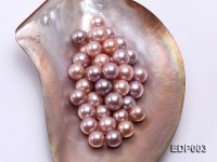 AA-grade 12-14mm Naturl Pink/Lavender Loose Round Edison Pearls