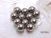 Wholesale 20mm Silver Round Seashell Pearl Bead