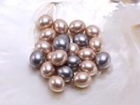 Wholesale 15x18mm Oval Seashell Pearl Bead